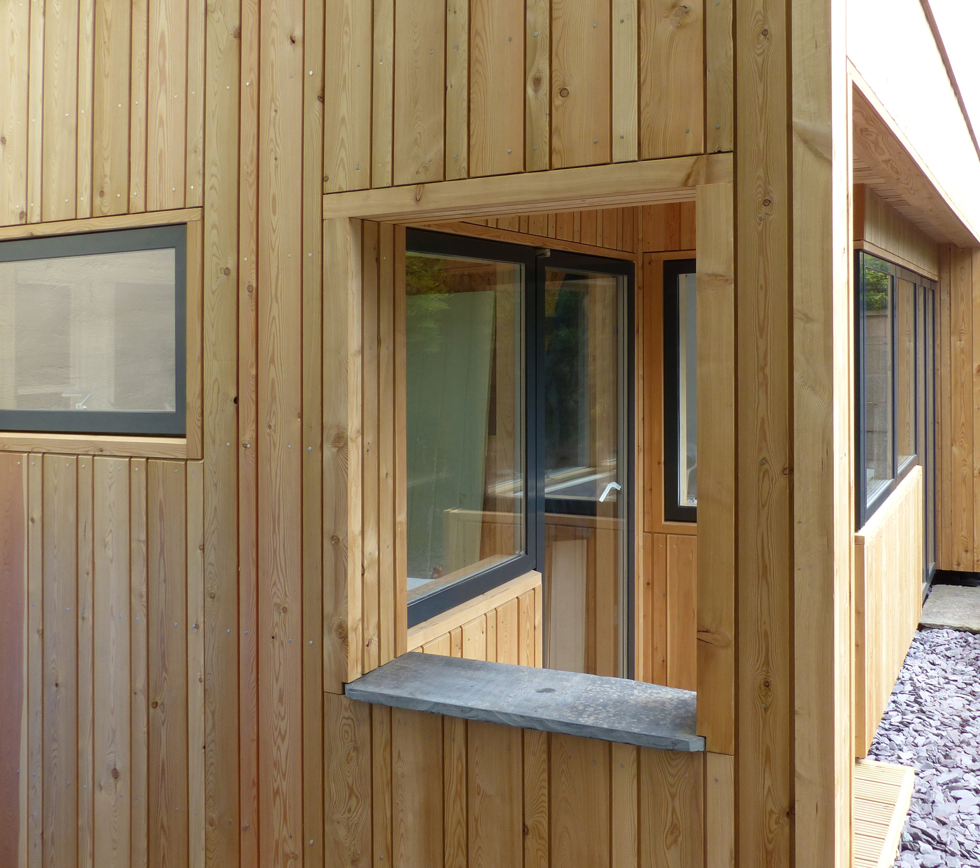 Siberian larch is a hit tom barnes blog for Window cladding