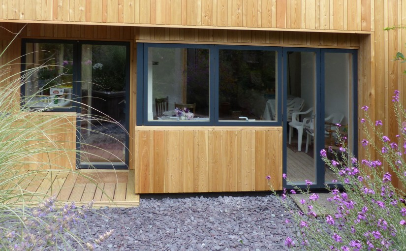 Siberian larch on Mick Gemson's new extension